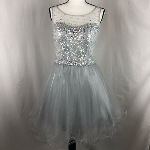 FABULUXE COUTURE beaded pageant dress size medium